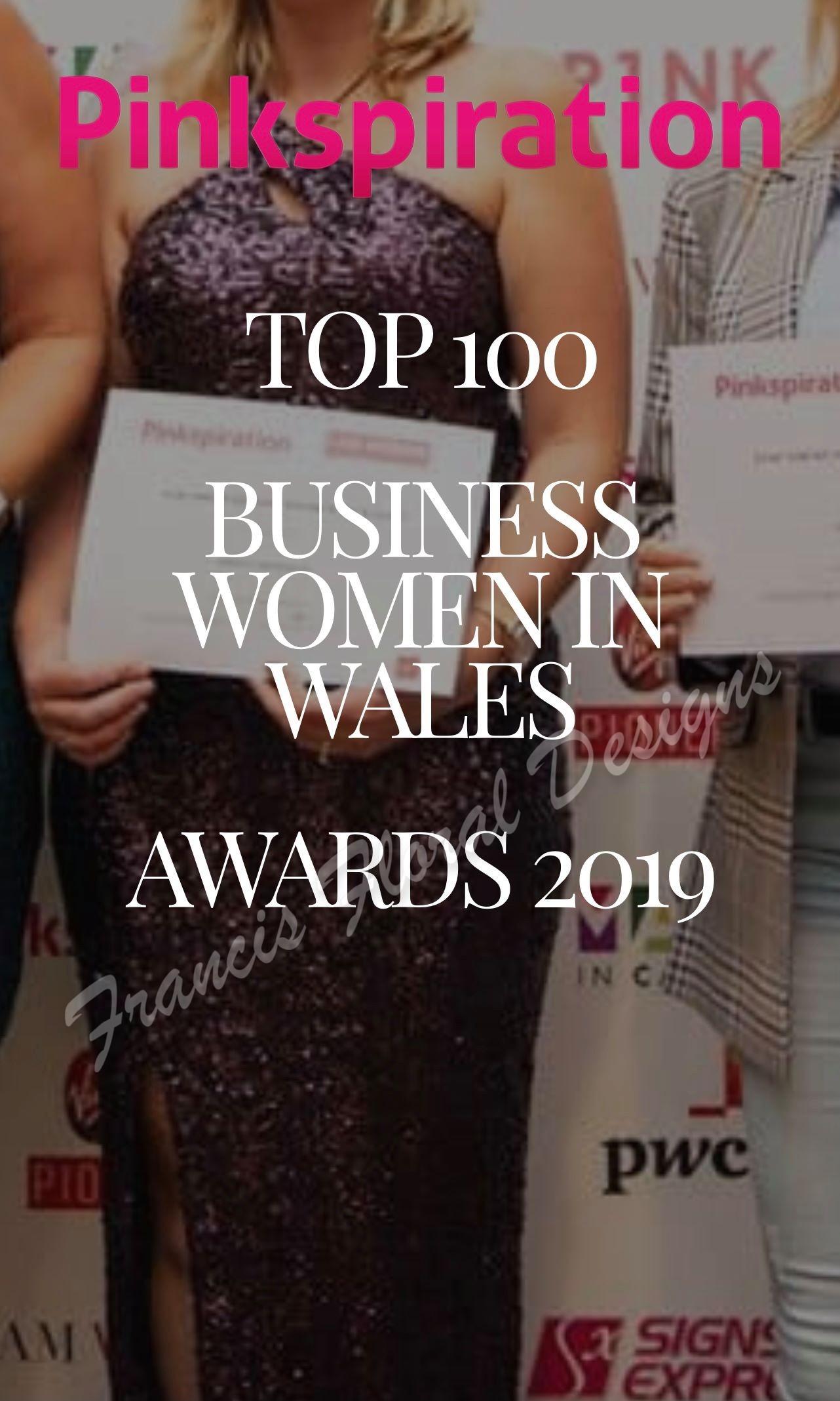 Top 100 business women award